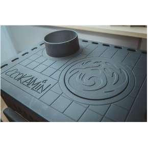 Печь - камин Бавария Оптима с плитой
