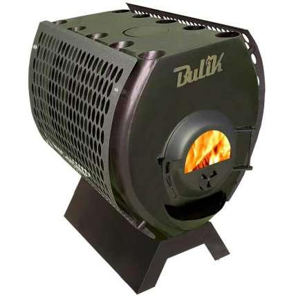Отопительная печь BulyK 400 Стекло с экранами - ПечиМАКС