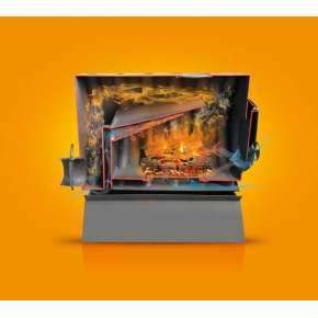 Отопительная печь BulyK 400 Стекло с экранами