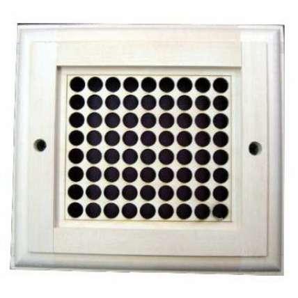 Вентиляционная решетка малая (РВ) - ПечиМАКС