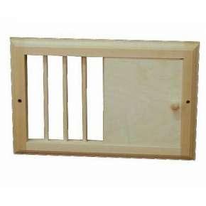 Вентиляционная решетка малая с задвижкой (РВ-М)