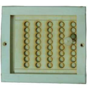 Вентиляционная решетка малая с задвижкой (РВЗ-М)