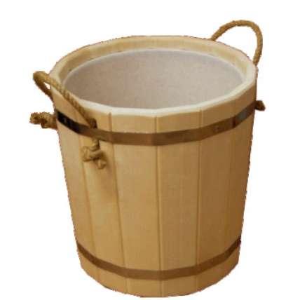 Запарник для бани с пласт. вставкой 12 л  (ЗП-12) - ПечиМАКС