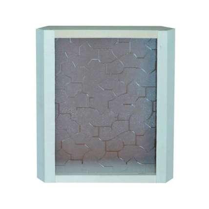 Абажур угловой (стекло светлое) (АСС) - ПечиМАКС
