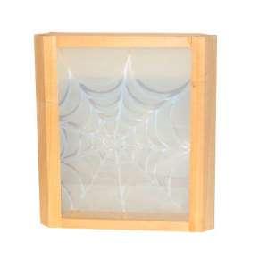 Абажур угловой паутина (стекло) (АПС)