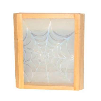 Абажур угловой паутина (стекло) (АПС) - ПечиМАКС