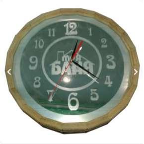 Часы Бочонок зеркальные (27 см) (ЧБЗ-М)