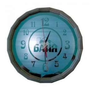 Часы Бочонок зеркальные матовые (27 см) (ЧБМ-М)
