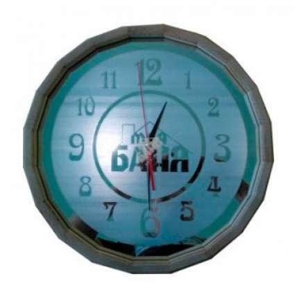 Часы Бочонок зеркальные матовые (40 см) (ЧБМ-Б) - ПечиМАКС