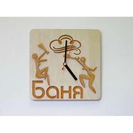 "Часы ""Баня с девушками"" (ЧР-БД) - ПечиМАКС"