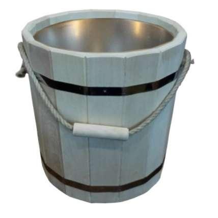 Ведро 15 литров с оцинкованной вставкой (ВЦ-15) - ПечиМАКС