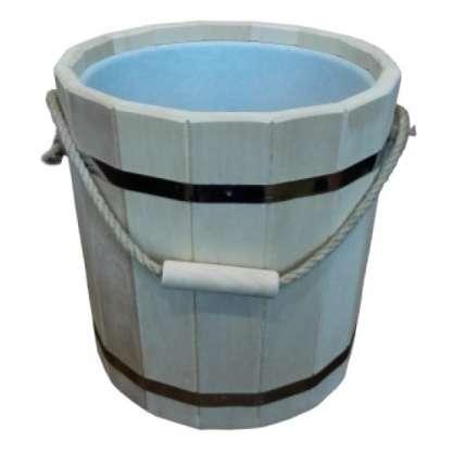 Ведро 20 литров с пластиковой вставкой (ВП-20) - ПечиМАКС