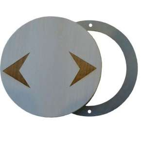 Вентиляционный клапан круглый (ВКФ-1)