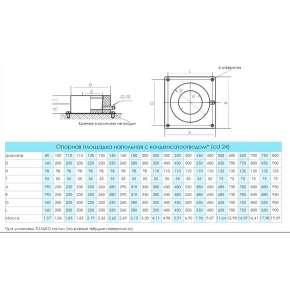 Craft HF-50 опорная площадка напольная с конденс. (316/0,8/304/0,5) Ф130х230