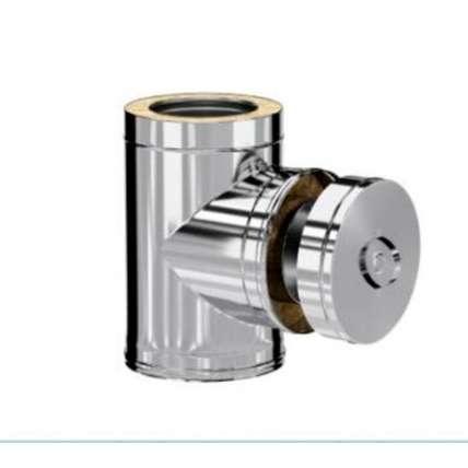 Craft HF-50 сэндвич-ревизия с загл. (316/0,8/304/0,5) Ф150х250 - ПечиМАКС