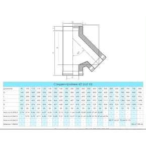 Craft HF-50 сэндвич-тройник 45° (316/0,8/304/0,5) Ф130х230
