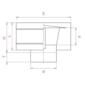 Craft дефлектор (316/0,5) Ф130