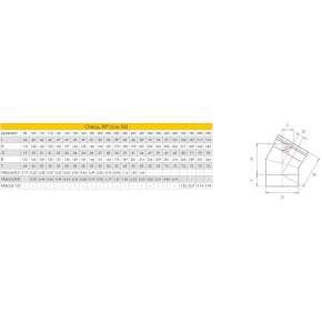 Craft отвод 30° (316/0,8) Ф250