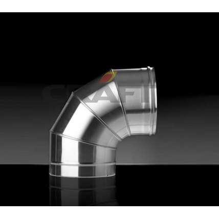 Craft отвод 90° (316/0,8) Ф115 - ПечиМАКС