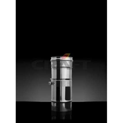 Craft труба-телескоп 0,38-0,61м (316/0,5) Ф80 - ПечиМАКС