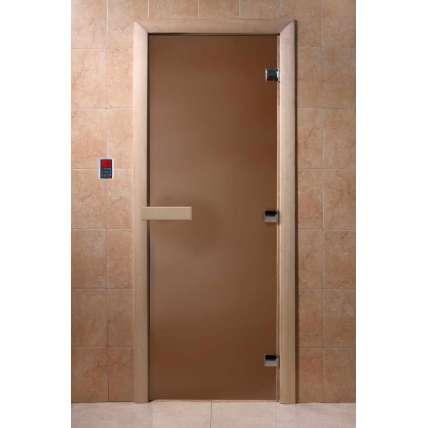 Дверь DoorWood д/сауны Теплая ночь - ПечиМАКС