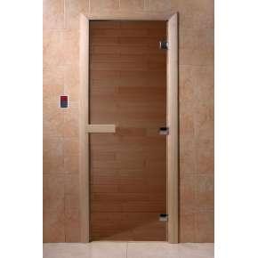 """Дверь DoorWood для бани и сауны """"Теплый день"""""""