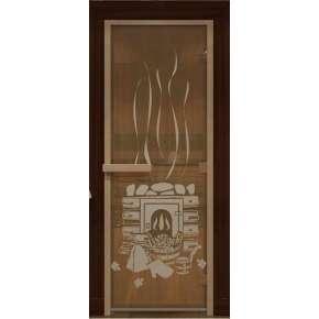 Дверь DoorWood д/сауны  Арт серия