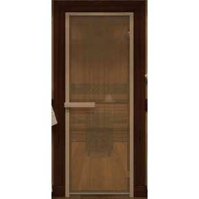Дверь DoorWood Бронза 6 мм, 2 петли