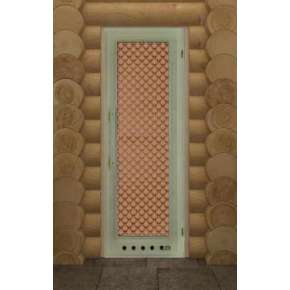 Дверь для бани Элит с вентиляционным отверстием