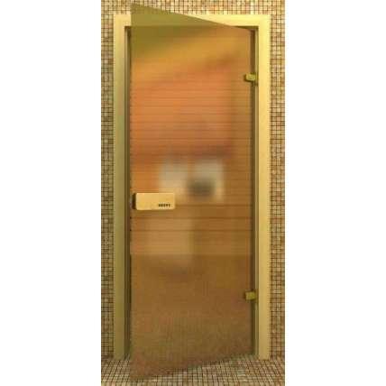 Стеклянная дверь для бани souvi «элит» бронза матовая 190*80 - ПечиМАКС