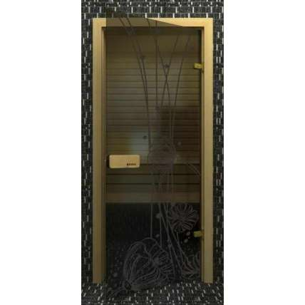 Дверь SUOVI элит МАКИ (пескоструй) 1900*700 - ПечиМАКС