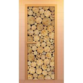 Дверь д/сауны ALDO 690х1890 c фотопечатью