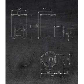 Печь Ферингер Мини в комплекте Стандарт (ПФ) Антик