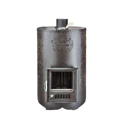 Печь Ферингер Уют 18 в комплекте Дуб (ПФ) Антик - ПечиМАКС