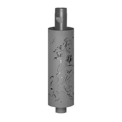 Дымоход экономайзер с шибером Ферингер Ф115 L1M - ПечиМАКС