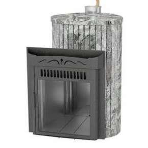 Печь Ламель МАКСИ плита мрамор