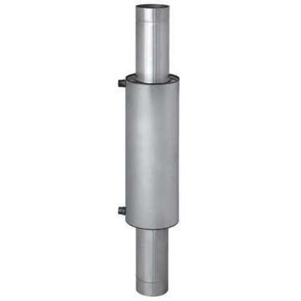 Бак для воды Комфорт 12л с водяным контуром (нерж.) Ф115 - ПечиМАКС