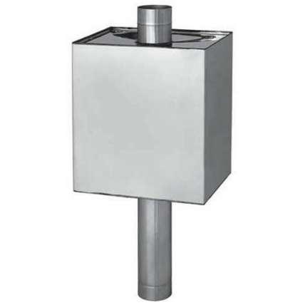 Бак для воды для бани Феррум Комфорт 73 л прямоугольный на трубе Ф115 - ПечиМАКС