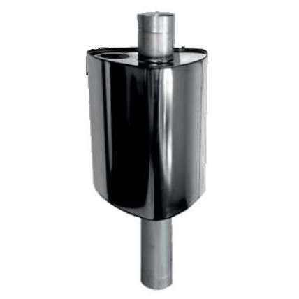 Бак для воды Феррум Комфорт 67л треугольный на трубе Ф115 - ПечиМАКС