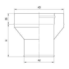 Адаптер стартовый (430|0,8 мм ) Ф150х210