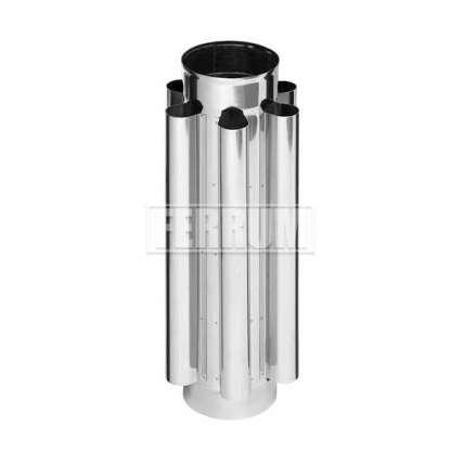 Дымоход конвектор (430|0,8 мм) Ф115 - ПечиМАКС