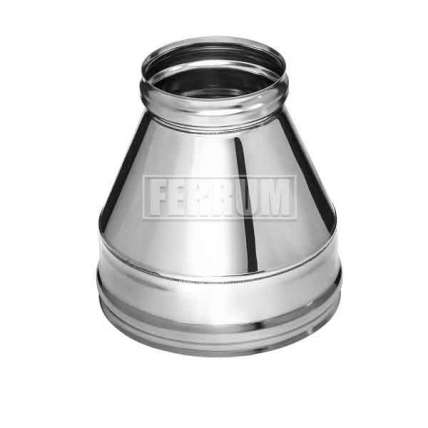 Конус (нерж. 0,5мм) Ф210х150 - ПечиМАКС