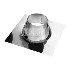 Крышная разделка прямая (430/0,5 мм) Ф 300