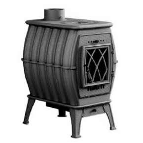 Печь-камин Бахта - цвет серый