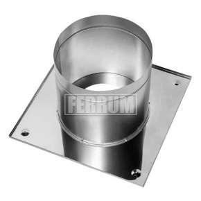 Потолочно проходной узел ППУ (нерж.сталь 0,5 мм) Ф110