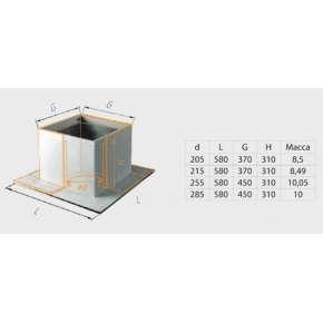 ППУ (430/0,5 мм + минерит) Ф210
