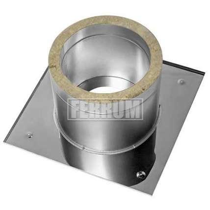 ППУ Потолочно проходной узел (нерж.сталь утеплен) Ф115 - ПечиМАКС