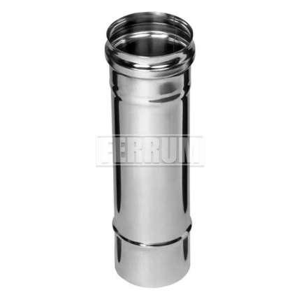 Дымоход (нерж. сталь 0,5мм) L=0,25м Ф120 - ПечиМАКС