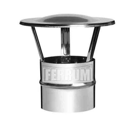 Зонт-Д (нерж. сталь 0,5мм) Ф115 - ПечиМАКС