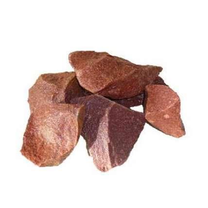 Камень малиновый кварцит для бани  - ПечиМАКС